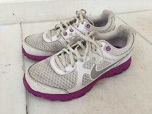 Bandire escalation Equivalente  Nike Lunarlon Forever 488164 -101 White & Purple Running Shoes Womens Size  7.5 | eBay