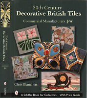 20th Century Decorative British Tiles, Commercial Manufacturers J-w