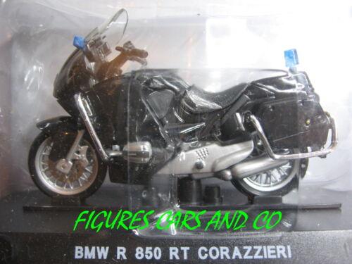 MOTO 1//24 BMW R 850 RT  CORAZZIERI ESCORTE PRESIDENTIELLE ITALIENNE GENDARMERIE