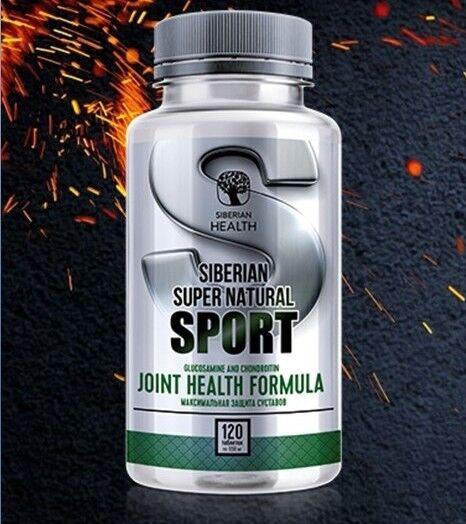Siberian capsules Super Natural Sport Glucosamine and Chondroitin 120 capsules Siberian 930e2a