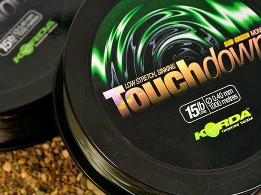 Korda Touchdown Monofilament Line   Carp Fishing Green Sinking All Sizes