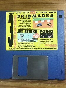 Amiga-Power-Magazine-cover-disk-30-Skid-marks-Jet-Strike-TESTED-WORKING