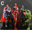 Avengers-3-Action-Figure-Moive-Marvel-Captain-America-Spiderman-Iron-Man-Toy-UK thumbnail 10
