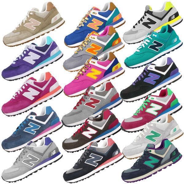 New balance wl574 zapatos cortos señora WL 574 muchos muchos muchos Colors 373 410 420 576 577  liquidación hasta el 70%