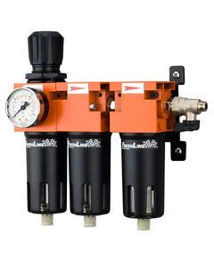 Proglam regulador Reductor de presi/ón de Aire con medidor de medidor de Filtro para Aerosol