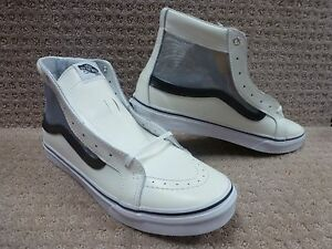 Hombre Negro Recortado hi Vans Sk8 Entallado malla Zapatos Blanco Awxdqgp
