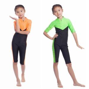 Uk Kids Girls Muslim Islamic Modest Swimwear Full Body Swimsuit