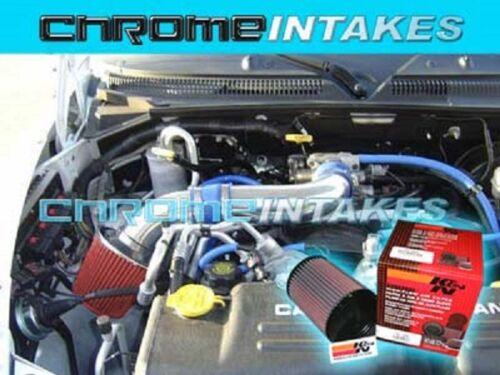 NEW 00-10 DODGE DAKOTA//DURANGO//RAM 3.7 3.7L V6 4.7 4.7L V8 AIR INTAKE S-TYPE+K/&N