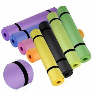 Non-Slip-Yoga-Mat-Thick-Large-Foam-Exercise-Gym-Fitness-Pilates-Meditation