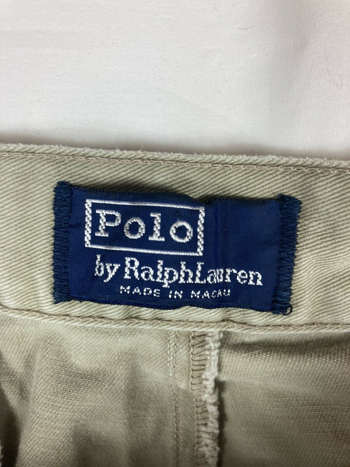 POLO RALPH LAUREN Shorts Chino Pleated 90s 80s VT… - image 3