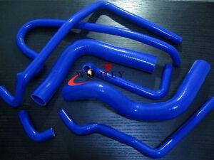 For-Holden-V8-VN-VP-VR-VS-5-0L-SS-304-Silicone-Radiator-Heater-Blue-Hose