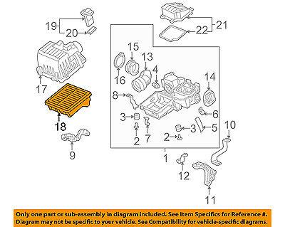 AF6052 ENGINE AIR FILTER HONDA FIT OE# 17220-RB0-000 1.5L ENGINE 2009-2014