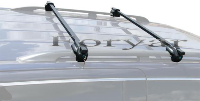 BRIGHTLINES STEEL LOCKING CROSS BARS CROSSBARS ROOF RACKS FOR CADILLAC SRX