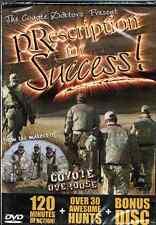 DVD Coyote Doctors Prescription for Success, predator calling hunting trapping