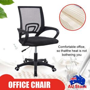 Ergonomic Office Chair Gaming Computer Mesh Desk Chairs Executive Mid Black Ebay