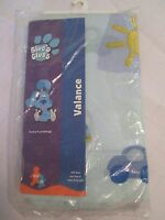 Nip Blues Clues Patchwork Blocks Window Valance