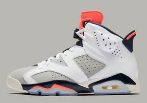 a4c322905dc1 AIR JORDAN RETRO 6 MENS VI 384664-104 WHITE TINKER INFRARED LASER 6s ...
