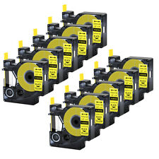 10 For Dymo Rhino 42005200 Heat Shrink Tube 18056 Industry Label Tape 12x5