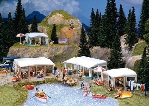 Faller h0 130503-camping-Caravane-Set Kit article neuf