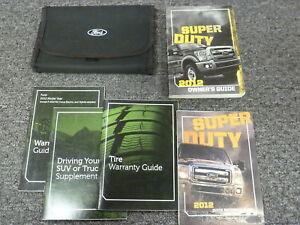 ford  super duty truck owner manual diesel xl xlt