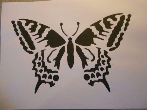 Schablone Schmetterling6 auf A4