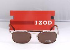 New Izod Sunglasses IZS 765 Gold 56-17-140  w/ Case retail $129