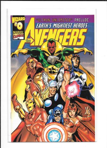 8.0 MARVEL ULTRON UNLIMITED AVENGERS #0 WIZARD