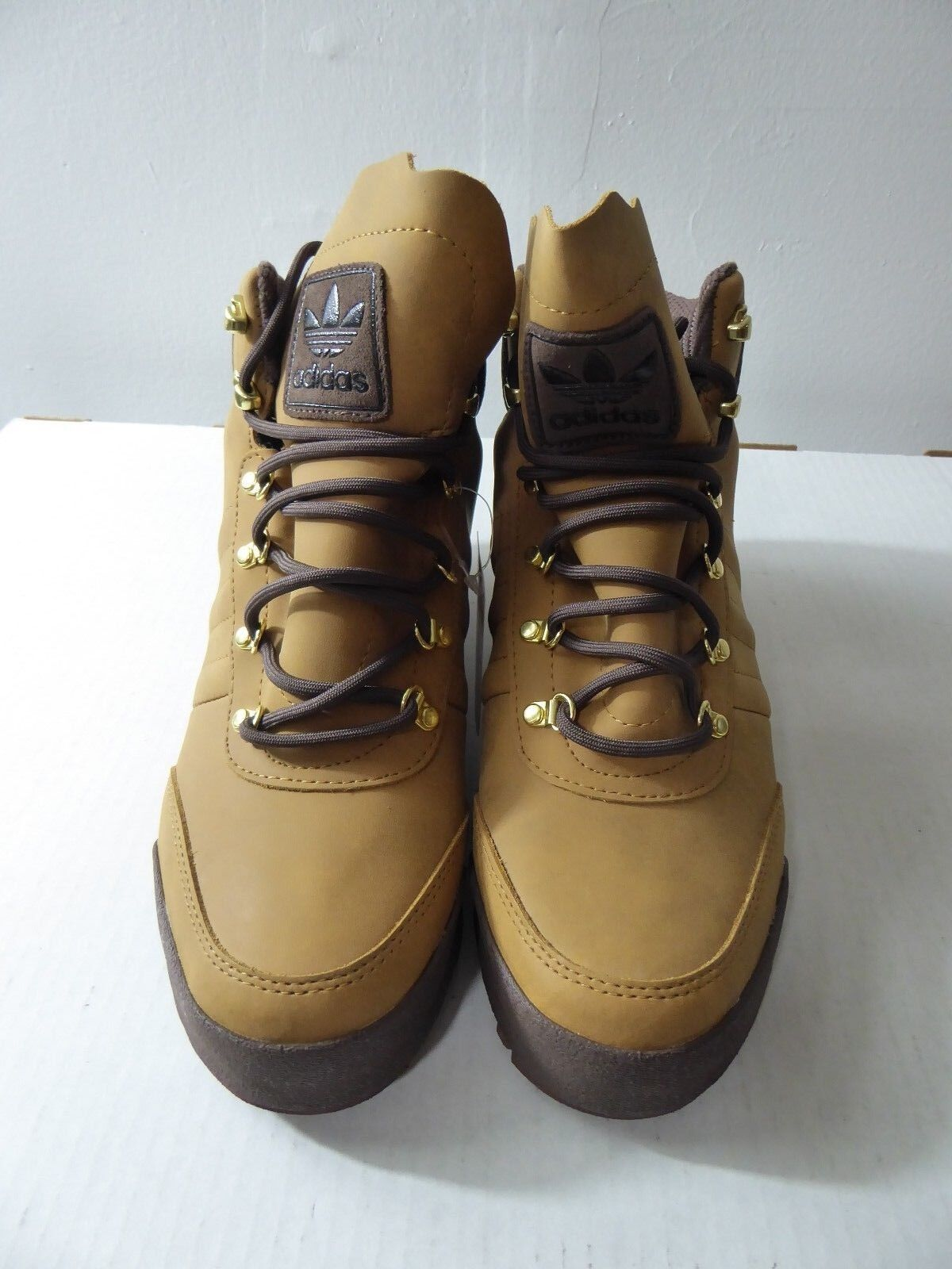 NEW- ADIDAS JAKE BOOTS 2.0, STYLE: BB8923, MESA BROWN, ASST. SIZES,  84.95