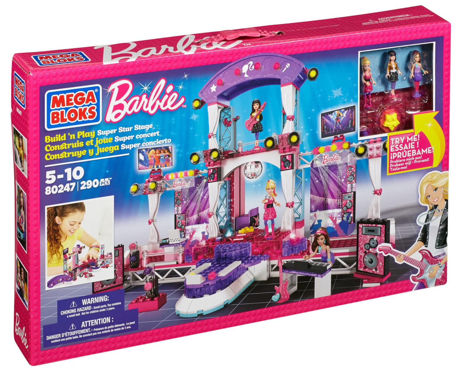 Mega - bloks barbie super star phase   80247 vollständig (lego - kompatibel)