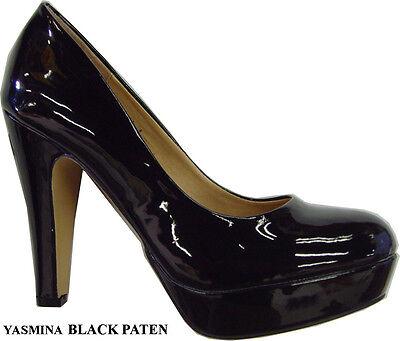 5--10 Women Classic Round Toe Fashion Platform Stiletto high Heel Pump shoes SZ