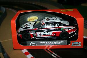 Slot.it 1:32 maserati mc gt3 1st Vallelunga 2012 nº 38