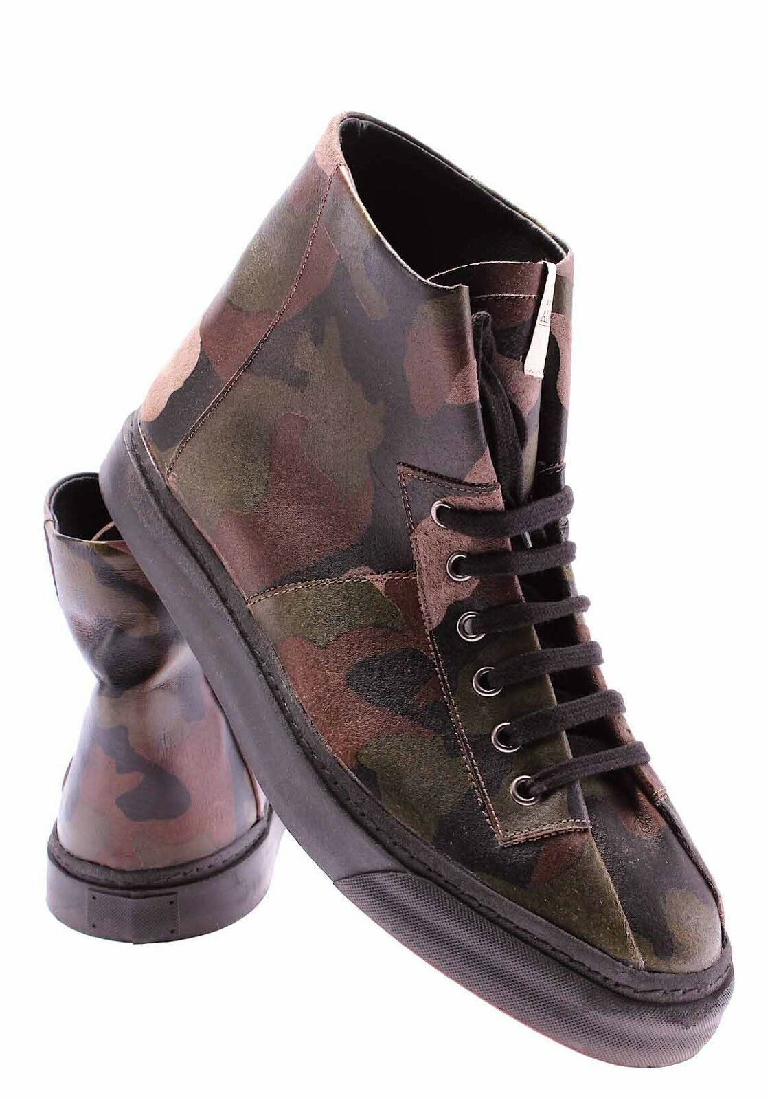 Men's Shoes Ankle Boots SERAFINI Advanced Illadelph Mimetic Italy Military Italy Mimetic New 67a860