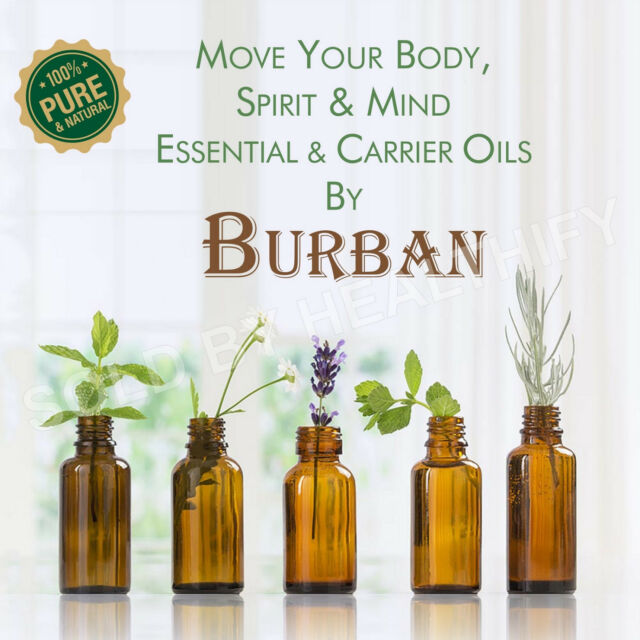 100% PURE NATURAL ESSENTIAL & CARRIER OILS COLLECTION OF BEST AROMATHERAPY OILS