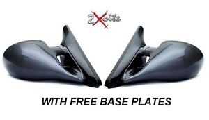 Vauxhall Tigra Noir Manuel M3 wing mirrors /& DEL indicateurs Inc Base Plaques