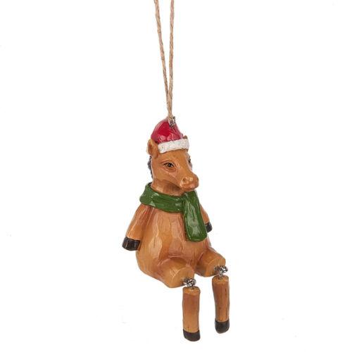 Horse w//Dangling Legs Ornament