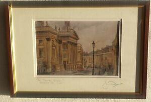 Jim-Doran-Theatre-Royal-Newcastle-upon-Tyne-Grey-Street-Original-Signed-Print