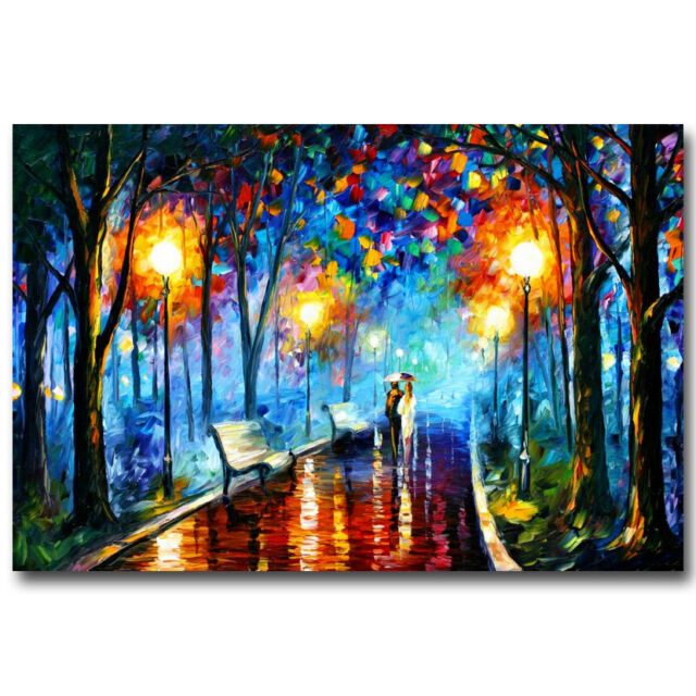 A Rainy Day in New York Movie Art Silk Poster 12x18 24x36