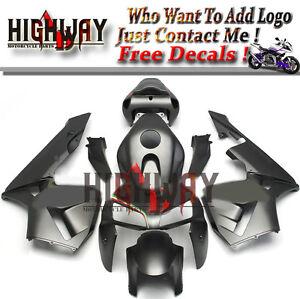Black-Matte-Italian-ABS-Fairing-Bodywork-Kits-For-Honda-CBR600-CBR600RR-F5-05-06