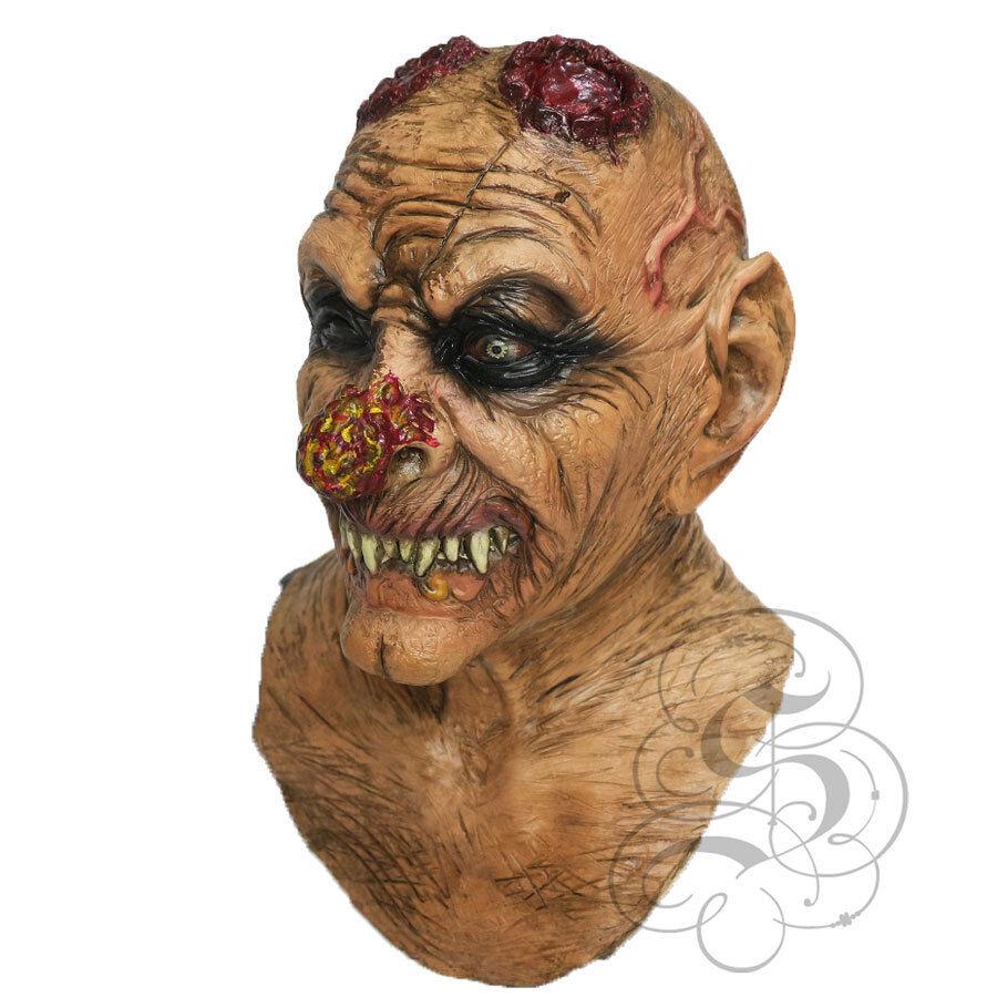 Halloween Latex Evil Goblin With Chest Horror Dress Up