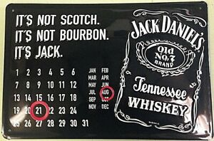 hi Jack Daniels Nothing Like Embossed Steel Sign 300mm X 200mm Kitchen, Dining, Bar Home & Garden