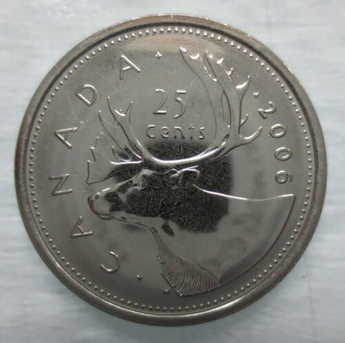 2006L CANADA 25 CENTS PROOF-LIKE QUARTER COIN