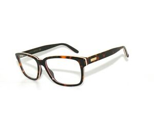 4a9a665dd23 Image is loading Gucci-0272O-006-55-Avana-White-Red-Eyeglasses-