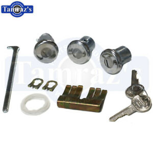 Chevelle-Skylark-Camaro-Body-Door-amp-Trunk-Lock-Kit-Set-Original-Key-Style-136A