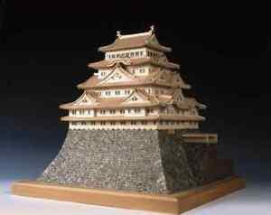 Woody JOE wooden 1/150 Nagoya Castle wooden Mini Model Kit Japan