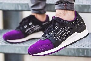 Details about Asics Tiger Gel Lyte III 5050 pack men running shoes H5V0L 3390 purpleblack