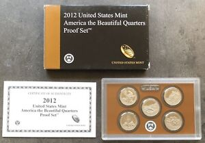 USA-2012-S-America-The-Beautiful-Quarter-Proof-Set-San-Francisco-PP-25c-QUARTERS