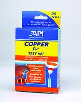 Aquarium Pharmaceuticals Fw & Sw Copper Test Kit 90 Tests Free Ship To The Usa