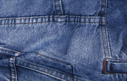 Denim Print MCN Reusable Modern Cloth Nappy Microfibre insert