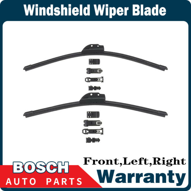Bosch 2 Pcs Front Left  U0026 Right Windshield Wiper Blade For