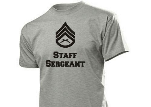 T-Shirt US Army Staff Sergeant Rank Marines Navy USMC S-XXL USMC Navy vienam wk2